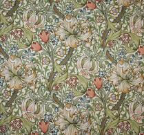 "William Morris - Textil - Gardin - ""Golden Lily"""