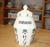Speceriburk - Porslin -  Strösocker