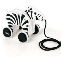 BRIO - Zebra - Dragdjur