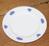 Gustavsberg - Porslin - Blå Blom - Assiett