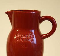 Höganäs - Keramik - Kanna - Röd