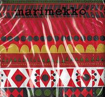 Marimekko - Pappersservett - Raanu
