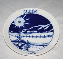 Hackefors - Porslin - Jultallrik 1976