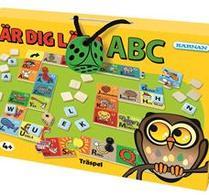 Kärnan - Lär dig läsa - ABC - Träspel
