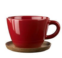 Höganäs - Keramik - Front -  Temugg - Röd