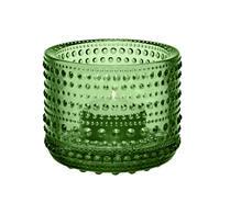 Iittala - Glas - Kastehelmi - Ljuslykta - Grön