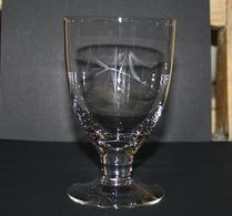 Glas - Vinglas - Etsad dekor