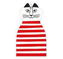 Lisa Larson - Skärbräda - Katten Trull - Röd