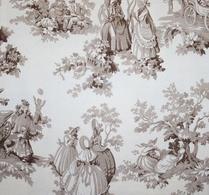Textil - Gardin - Brun