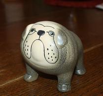 Keramikstudion - Lisa Larson - Bulldog - Grå