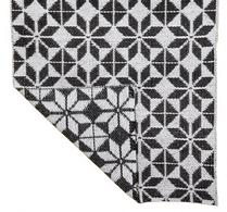 Formverket - Matta - Plastmatta - Marocko - Svart/vit