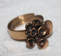 Brons - Hannu Ikonens - Lava - Ring