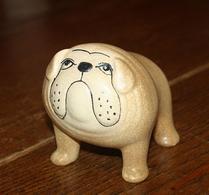 Keramikstudion - Lisa Larson - Bulldog - Brun