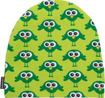 Maxomorra - Mössa - Bird Grön - Barn - Ekologisk bomull