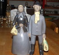 Jie - Keramik - Figurin - Amerikafararna
