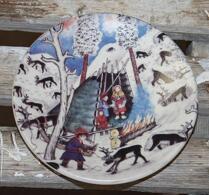 Arabia - Keramik -  Väggtallrik - Nr 35
