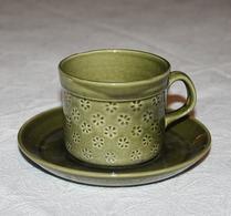 Gustavsberg - Porslin - Veronika - Kaffekopp - Grön