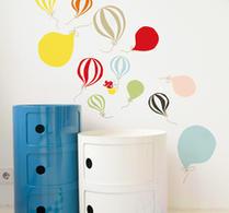 Littlephant - Wallsticker - väggdekor - Ballonger