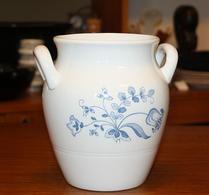 Gustavsberg - Keramik - Kruka - Blåvit