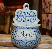 Rörstrand - Keramik - Väggvacka  - Mjöl - Marianne Westman