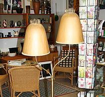 Lampa - Golvlampa - Tvåhövdad lampa