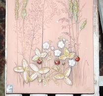 Jie - Keramik - Väggtavla - Relieff - Smultron