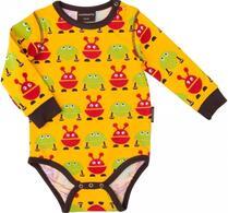 """Maxomorra - Barnkläder - Body - """"Monster"""""""