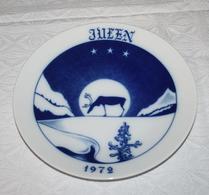 Hackefors - Porslin - Jultallrik 1972