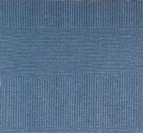 Formverket - Matta - Plastmatta - Frans - Blå