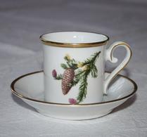 Porslin - Svenska Landskapsblommor - Kaffekopp - Medelpad