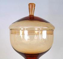 Skruf - Glas - Fotskål - Lockskål